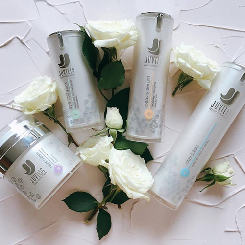 Juvilis is a proven at home treatment helping to plump out fine lines, hydrate, rejuvenate and give strength back to your skin...