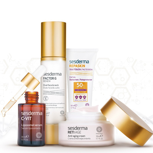 Sesderma is a dermocosmetic brand offering a broad range of skincare for different skincare needs, featuring revolutionary nanotechnology...